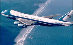 Obama Uses Air Force One for 110 Mile Trip!